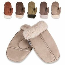 Nordvek 3-8 Years Childrens Real Sheepskin Mittens Gloves Boys & Girls 325-100