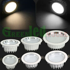 3W 5W 7W 9W 12W 18W LED Recessed Ceiling Down Light Fixture Spot Shop Lamp Bulb