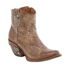 Lucchese M4635 Womens Multi-stud Pearl Leather Shortie Western Cowboy Boots