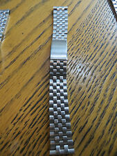 """New Old Stock Baldwin Stainless Steel Weave Watchband 18mm end,6 1/8"""""""