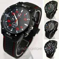 Mens Boys Sport Watch Stainless Steel Watch Analog Quartz Clock Wrist Watch TG85