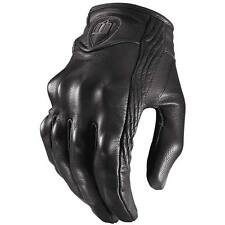 Icon Pursuit Leather Gloves Stealth (Non-Perf)