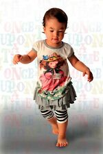 Paper Wings Organic Cotton Baby Girl Tee shirt top Size 6M BNwTag.