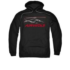 Airwolf helicopter TV Show Grid Licensed Adult Pullover Hoodie S-3XL