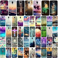 New Colorful Painted Pattern Hard Skin Back Case Cover For Samsung Galaxy S4 S5
