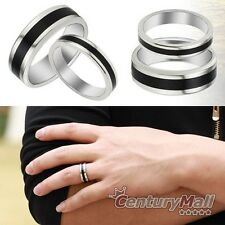 Titanium Rings Stainless Steel Lover Engagement Wedding Set Band Matching DF1065