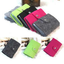 1x Retro Women Pouch ID Credit Card Wallet Cash Holder Organizer Case Box Pocket