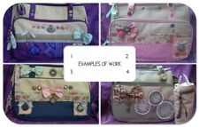 STEAMPUNK Shabby Design your own Nappy Bespoke Yummy Mummy baby changing bag