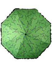 Sourpuss Stitches Green Umbrella