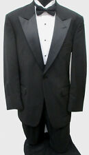Black Tommy Hilfiger Tuxedo Package Made in USA Wedding Prom Formal 43R