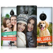 CREATE YOUR OWN CUSTOM MADE PRINTED PROTECTIVE HARD BACK CASE FOR NOKIA PHONES