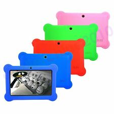 "7in Silicone Soft Case Cover For 7"" Android A23 / A33 Q88 Y88 Tablet PC Kids US"