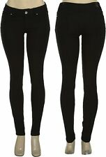 Fashion Jeggings Skinny Jeans Rhinestone Pockets Pencil Pants Black Leggings