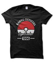 Kanto official Gym Leader Pokemon inspired t-shirt