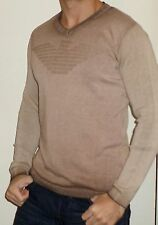 Mens   V-Neck Armani   Sweatshirt Jumper  BNWT.