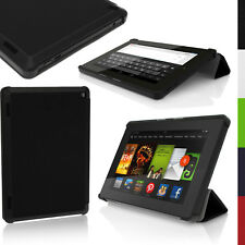 PU Leather Skin Smart Cover for Amazon Kindle Fire HD 7 2014 4th Gen Stand Case