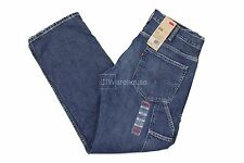 Levis 569 Mid Wash 137720002 - Loose Straight Fit Carpenter Jeans Blue $58