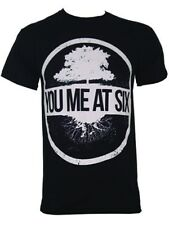 You Me At Six Tree Mens Black YM@6 T-Shirt - NEW & OFFICIAL