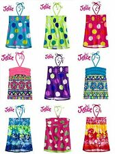 NWT 7,8,10,12 JUSTICE GIRL PINK,PURPLE,GREEN,BLUE SEQUIN /GLITTER HALTER TOP NEW