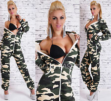 SEXY OVERALL* HOSE* JUMPSUIT* HAUSANZUG* WARME GEFÜTTERT CAMOUFLAGE ARMY* XS-XL