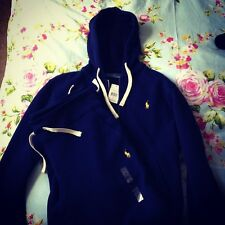 ★ Ralph Lauren POLO navy blue FULL Tracksuit ( HOODIE + JOGGERS ) ★ ALL UK SIZES