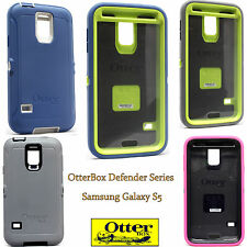 NEW OtterBox Defender Series Case for Samsung Galaxy S5 Blue White Green Grey