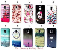 For Samsung Galaxy Phone 2 in 1 Hybrid Hard PC TPU Case Cover Various Patterns