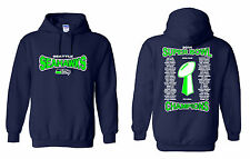 SEATTLE SEAHAWKS 2014 SUPER BOWL CHAMPIONS HOODIE (Sizes S - 5XL)