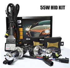 55W HID Xenon Conversion Kit H1 H3 H4-3 H7 H8 H9 H11 H13 9005 9006 9007 880 881