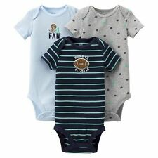 New Carter's Just One You 3 Pack Bodysuits Mommy's All-Star Football 9m 24m