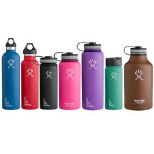 Hydro Flask Insulated Water Bottles Pick Your Size + Cap & Color NEW