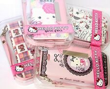 For iPhone SE 5S PINK SANRIO HELLO KITTY LEATHER WALLET FLIP POUCH CASE COVER