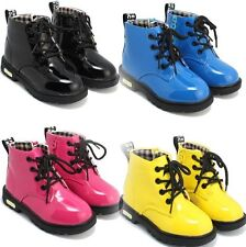 New Cute Baby Girls Boys Martin Boots Shoes Childrens Kids Water Proof Any Size