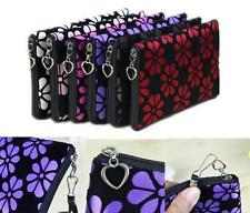 NEW Women Lady Cute Cosmetic Coin Cellphone Makeup Pouch Bag Printing Wallet GOC