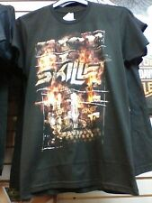 Skillet- WEA Black Rise Above Graphic Tee