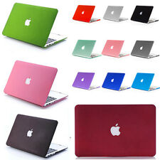 "For Macbook Air 11"" Pro 13"" 15"" Laptop Shell Matte Plastic PC Hard Case Cover"