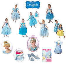 Child Disney Princess Cinderella Girls Book Week Fancy Dress Kids Party Costume