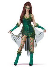 Posion Ivy Sexy Mother Nature Lethal Beauty Womens Halloween Costumes XS-XL