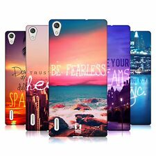 HEAD CASE DESIGNS WORDS TO LIVE BY 4 CASE FOR HUAWEI ASCEND P7 LTE