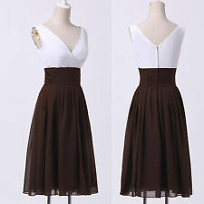CHEAP Short Prom Evening Party Homecoming 50's Mother of the Bride Petite Dress