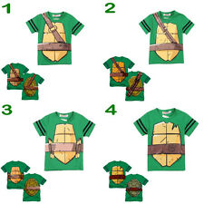 Teenage Mutant Ninja Turtles Baby Boys Funny Clothing Tops T-shirt Costume 2~7Y