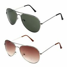 Fashion Trendy  Hipster Metal Aviator Sunglasses For Women