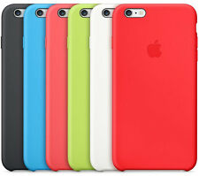 "Genuine Apple iPhone 6 4.7"" Soft Silicone Case Cover - 6 Colours"