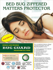 Zippered   Dust mite proof Anti allergy  mattress cover protector encasement