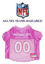 Pink NFL Dog Jersey ** ALL TEAMS AVAILABLE ** Football Team Pet Puppy Fan Shirt