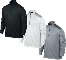 Nike Golf Dri Fit Performance 1/2 Zip Cover Up Pullover CLOSEOUT 585777 NWT