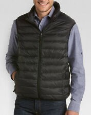 NEW Mens Hawke & Co Black Down Packable Vest Jacket U PICK SIZE