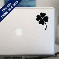 Four Leaf Clover Decal for Car or Laptop