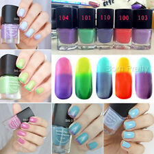 1Pc 6ml Temperature Change Colour Nail Polish Fashion Multicolor Nail Polish