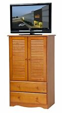 100% Solid Wood Petite Wardrobe•Armoire•Closet by Palace Imports, 3 Colors